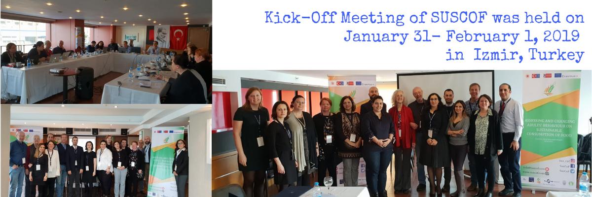 Kick-off  Meeting of SUSCOF